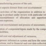 Cost Accounting System and Reconciliation